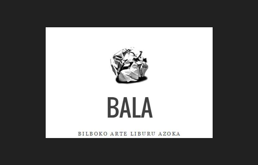 BALA: la feria del libro de Arte de Bilbao