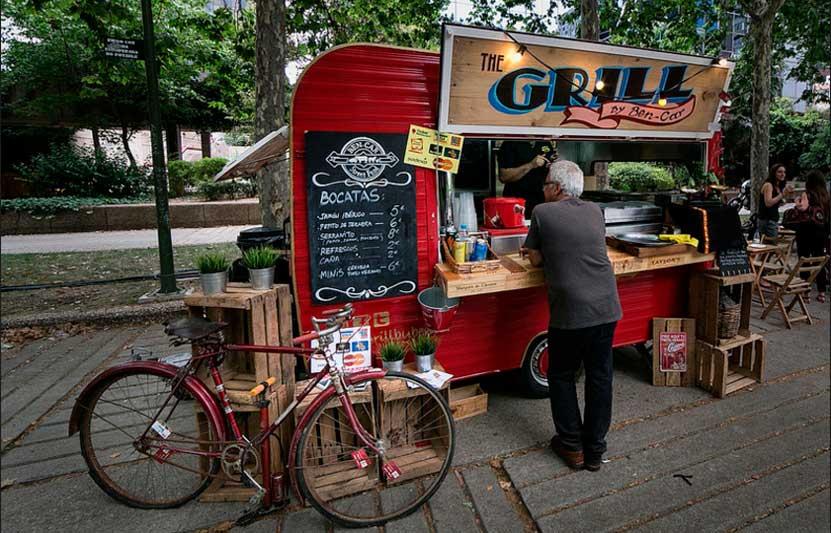 Food truck en Bilbao