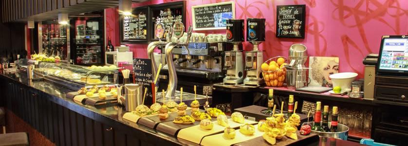 Cafetería restaurante Bahía en Bilbao