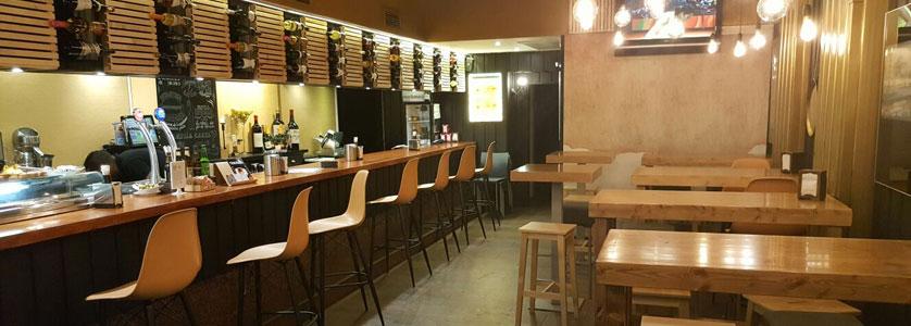 Cafetería - restaurante Bahía en Indautxu, Bilbao