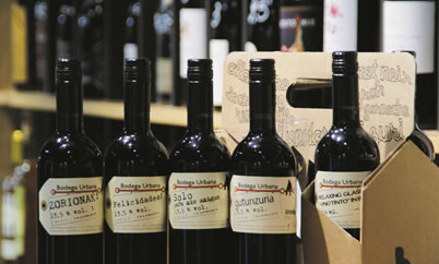 Etiquetas de vino personalizadas en Bilbao