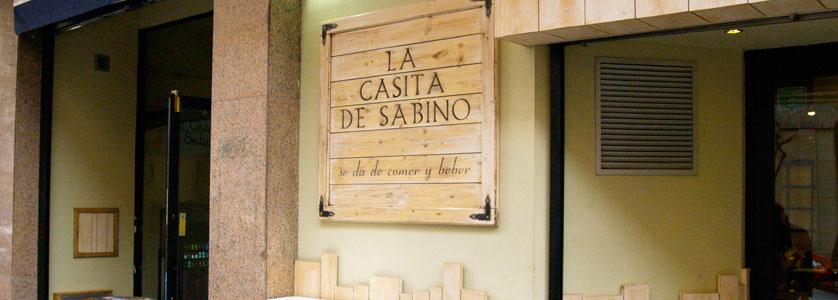 Restaurante marisquería La Casita de Sabino