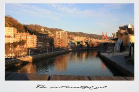 Paseo Abandoibarra de Bilbao
