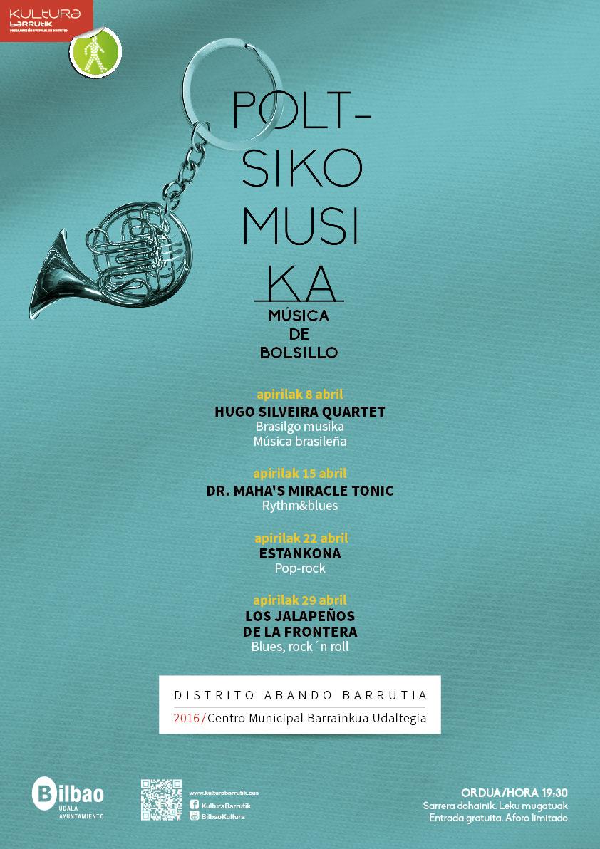 Música de Bolsillo Bilbao - Poltziko Musika 2016