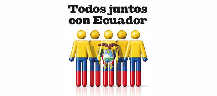 Concierto benéfico - Terremoto de Ecuador