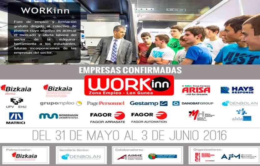 Workinn 2016, la feria del empleo de Bilbao