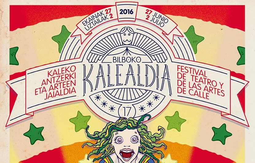 Kalealdia 2016, teatro de calle en Bilbao