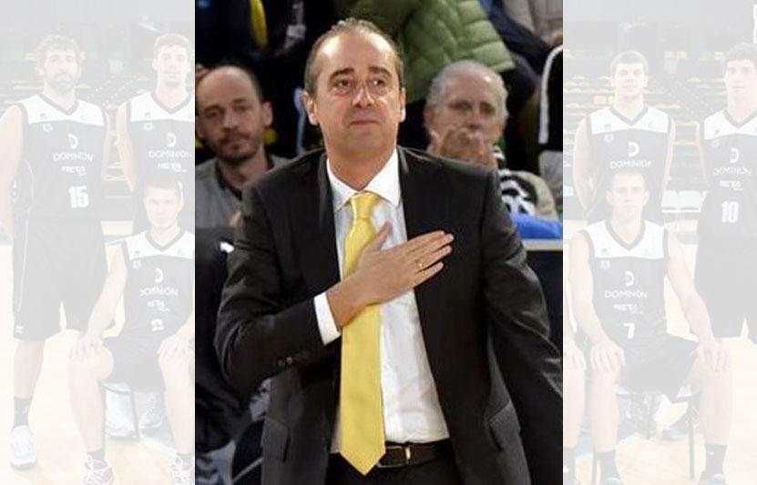 Txus Vidorreta, entrenador de baloncesto