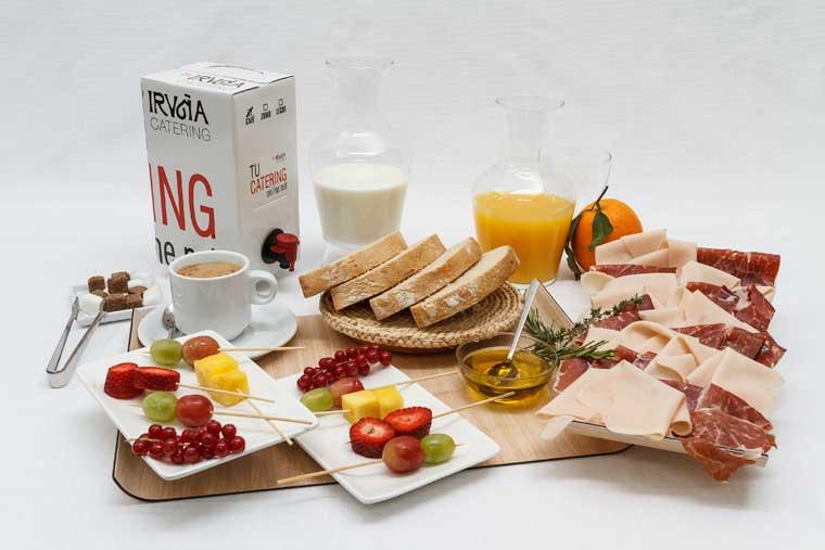 Catering de desayuno en Bilbao del Grupo Iruña
