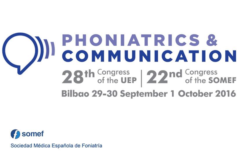 Congreso de Foniatría 2016 en Bilbao