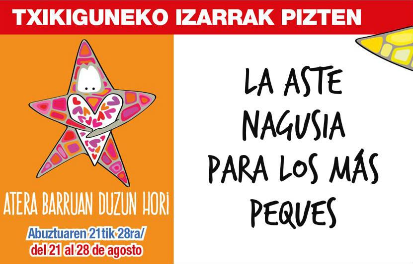 Plan con niños en las fiestas de Bilbao
