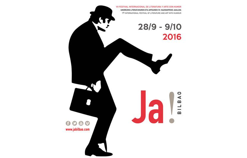 Ja! Bilbao 2016 Festival Internacional de Literatura y Arte con Humor