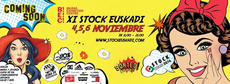 Feria del stock en Bilbao 2016