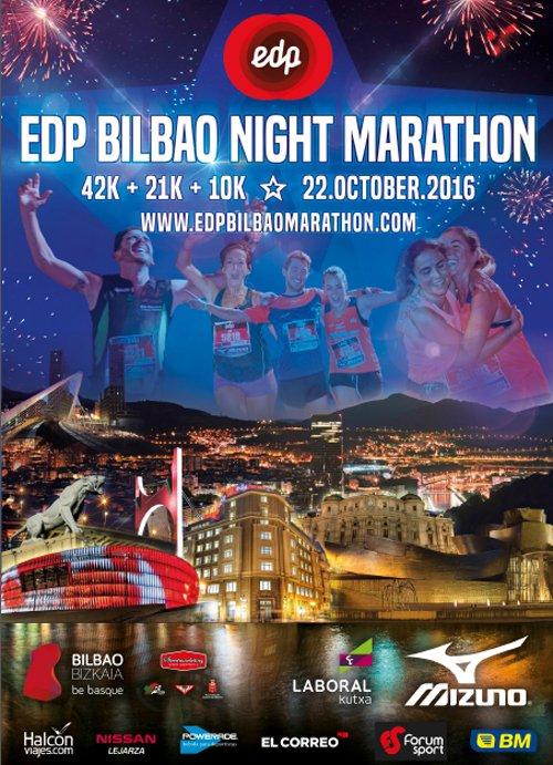 Maratón nocturno de Bilbao 2016