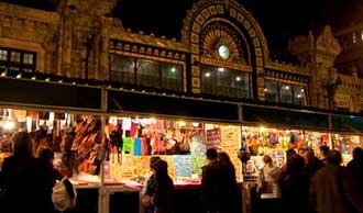 Mercado de Navidad de la Calle Bailén