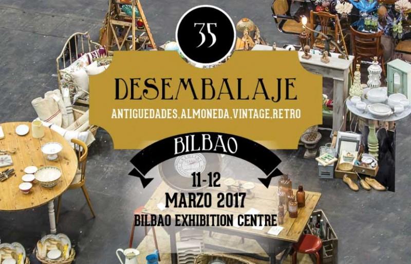 Feria de antigüedades en Bilbao 2017