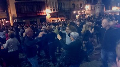 Danzas vascas. Baile de la era Bilbao