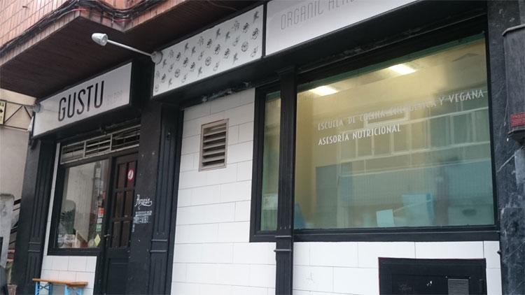Gustu, restaurante vegano en Bilbao