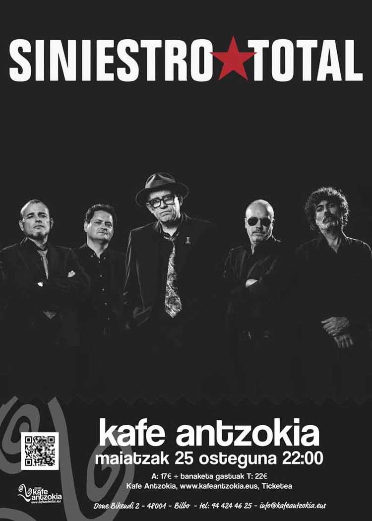 Siniestro Total en concierto en Bilbao