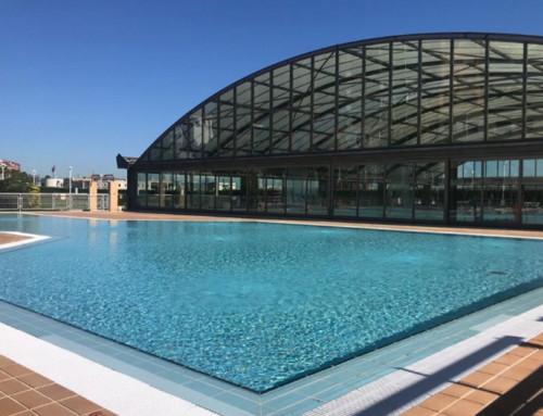 Las piscinas de Bilbao al aire libre