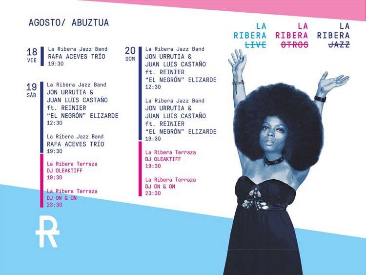 Conciertos de La Ribera en Aste Nagusia 2017