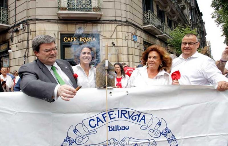 El Café Iruña de Bilbao celebra San Fermín