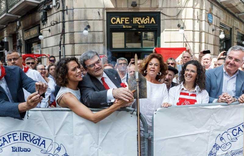 Txupinazo San Fermines 2017 Café Iruña Bilbao