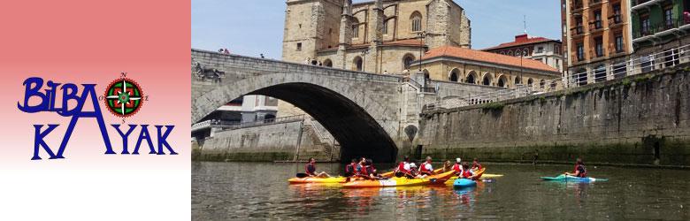 Bilbao Kayak, rutas por la ría