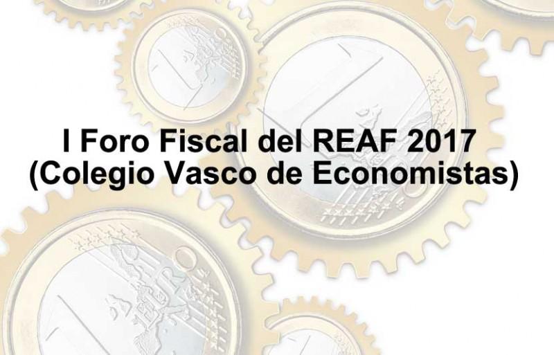 (REAF) I FORO FISCAL DEL PAIS VASCO