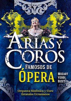Arias y coros famosos de ópera 9 de diciembre