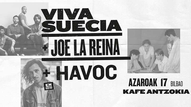 VIVA SUECIA – JOE LA REINA – HAVOC (En acústico)