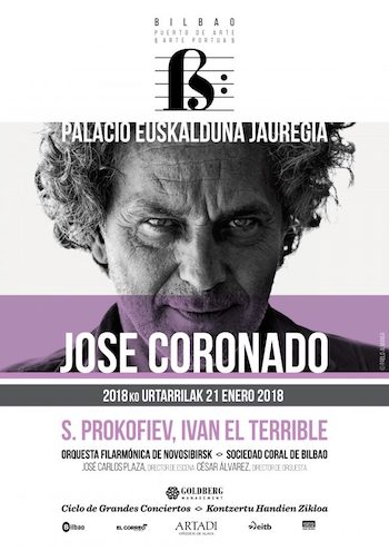 JOSE CORONADO ES IVÁN EL TERRIBLE