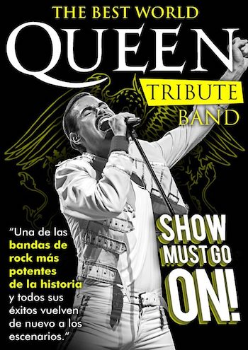 TRIBUTE QUEEN SHOW MUST GO ON