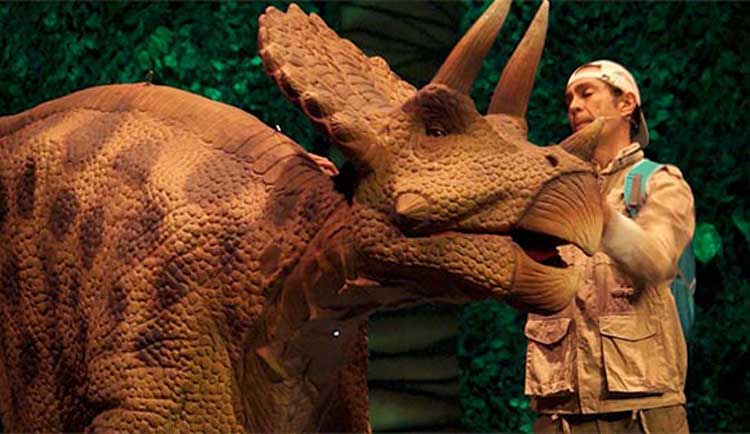Teatro Infantil: Jurásico II: la Isla Perdida