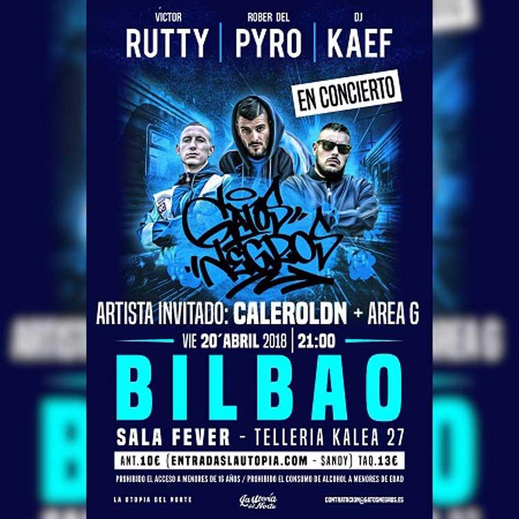 VICTOR RUTTY + ROBER DEL PYRO + DJ KAEF