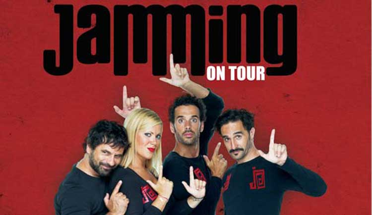 Jamming on Tour en el Teatro Campos