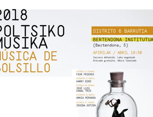 Música de Bolsillo 2018 – Poltsiko Musika