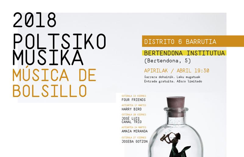 Música de Bolsillo 2018 Boltsiko Musika