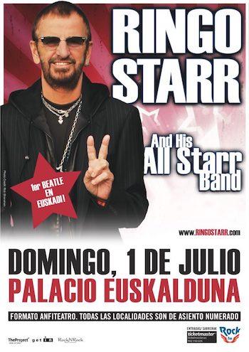Ringo Starr - 1 de julio