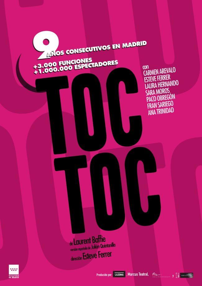 Toc Toc - del 14 al 20 de agosto