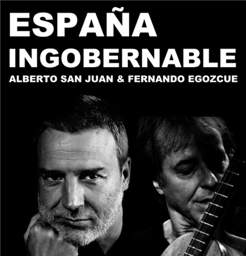 España ingobernable de Alberto San Juan y Fernando Egozcue