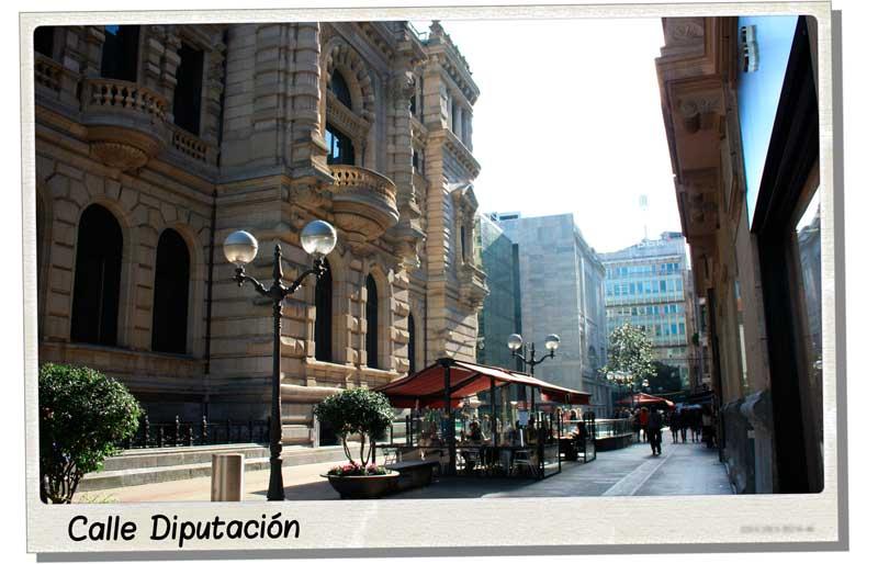 Calle Diputación de Bilbao