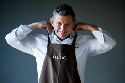 Álvaro Garrido del Restaurante Mina de Bilbao