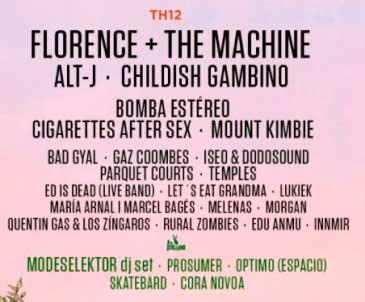 BBK Live 2018 en Bilbao