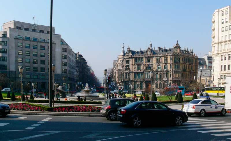 Plaza Moyua - Bilbao