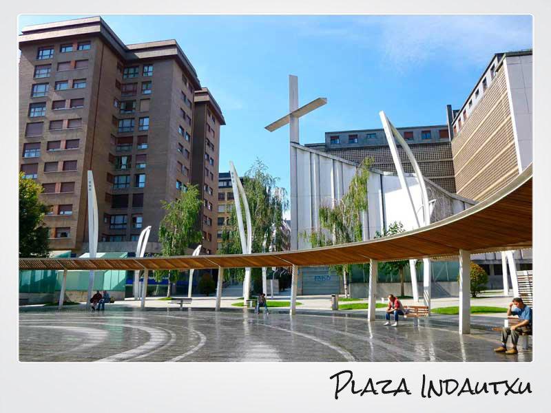 Plaza Indautxu de Bilbao