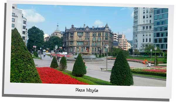 Plaza Moyua de Bilbao