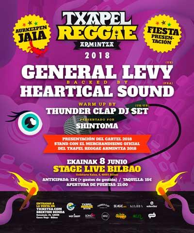Txapel Reggae Armintza 2018