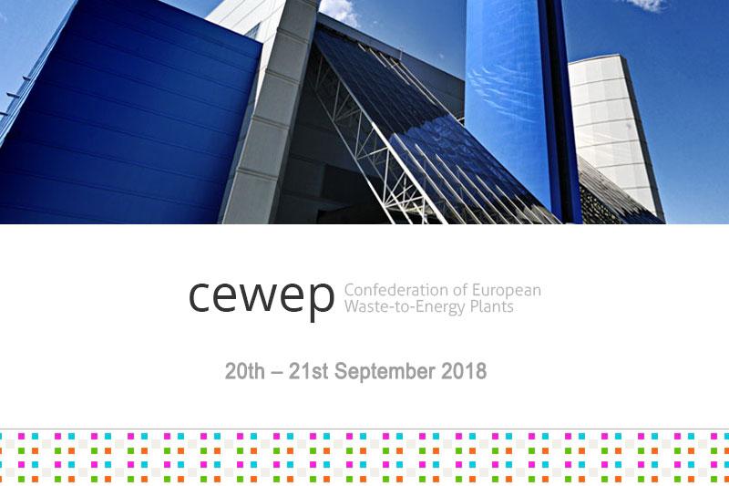9th CEWEP CONGRESS- WASTE TO ENERGY 2018 - CEWEP CONFEDERATION OF EUROPEAN WASTE-TO-ENERGY PLANTS