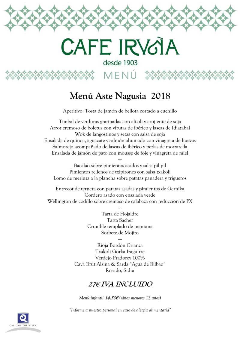 ú Café Iruña  Aste Nagusia 2018